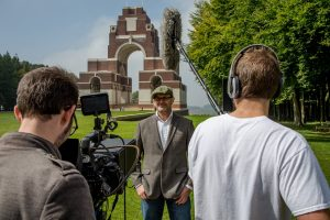 Tom Wedgwood and Inspired Film and Video on location.