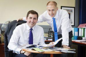 Richard Evans and Carl Croft