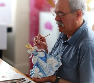 Master figurine painter, Dan Smith.